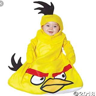 Angry birds infant costume