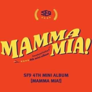 <<代購>>SF9- Mamma Mia