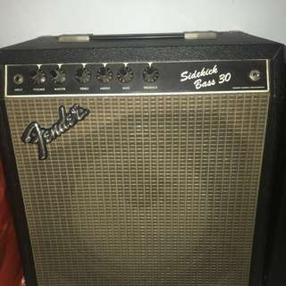 Ampli fender bass