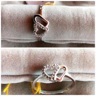 Size 14 Double 💓 shape Lady Ring
