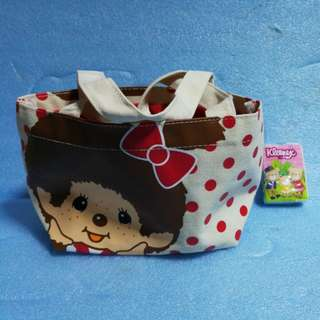 New Monchhichi Lunch box bag