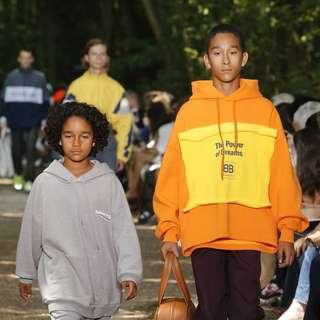 [New 瘋搶] Balenciaga Power of Dreams Orange Hoodies Size L