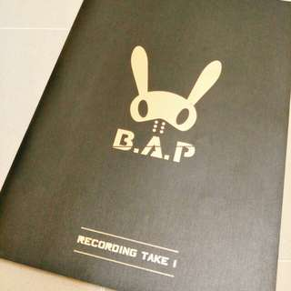 B.A.P - Recording Take 1 & 2 Photobook
