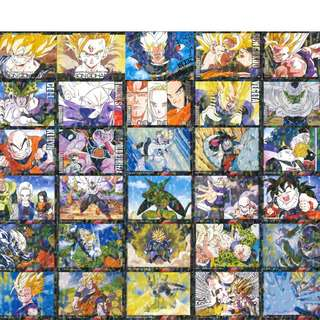 Dragonball Z trading card game 30 cards complete
