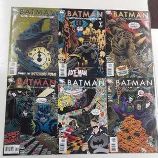 Batman Gotham After Midnight (2008) Comics Set