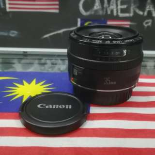 USED CANON EF 35MM F2 PRIME LENS