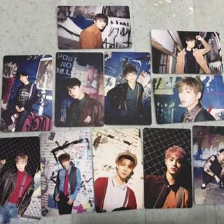 WANNA ONE UNOFFICIAL CARD SETS
