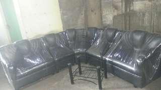 Corner sala set with center table