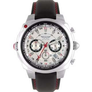 Aviator World Time Chronograph (Safra)