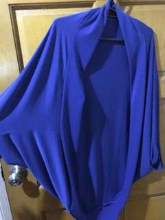 Plus size cape bolero