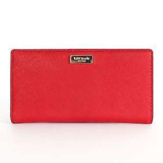 Kate Spade Saffiano Leather Newbury Lane Stacy Wallet
