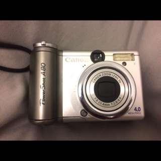 出外旅遊免充電🔋!Canon a80數位相機