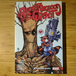 Rocket Raccoon & Groot Volume 0: Bite and Bark
