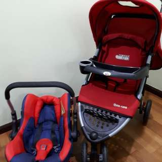 Stroller & Carrier + Carseat