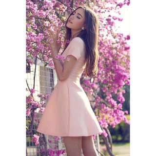 TCL Sweet Sentiment Dress in Light Pink, L