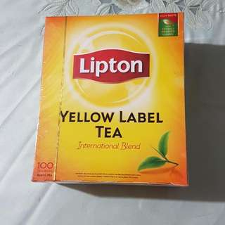 Lipton Yellow Label Tea (100pcs Tea Bags)