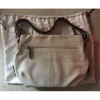 COACH Leather Shoulder Crossbody Handbag