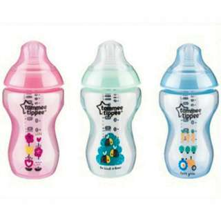 Tommee Tippee - Closer To Nature 12oz (340ml) PP Decorated Bottle (Single)