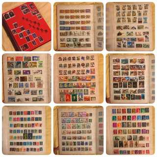 Stamp Collection 1950s to 1990s