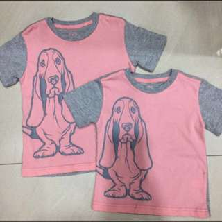 Hush Puppies T Shirt- Unisex for kids- Price for ALL