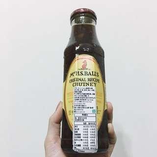 Mrs H.S.Balls Original Chutney 南非進口 酸甜醬