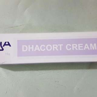 Dhacort Cream (*for Itch/rashes)