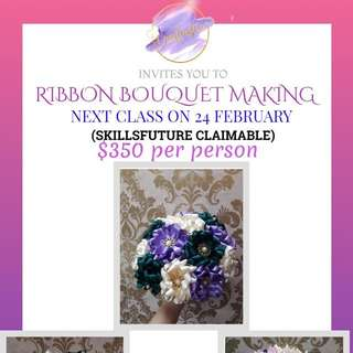 [CRAFTASTIC] RIBBON BOUQUET MAKING WORKSHOP