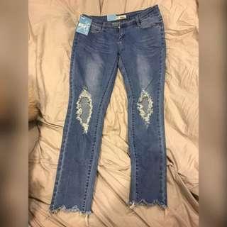 🚚 刷破牛仔褲