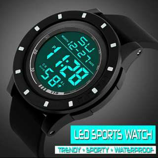 Men's LED Digital Sports Watch
