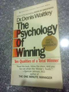 The Psychology of Winning by Dr Denis Waitley