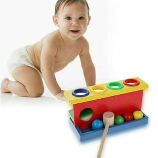 Hammering Wooden Box Toy