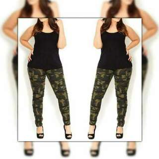 Plus size terno ( top + jogger )