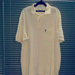 (YSL) Yves Saint Laurent Vintage Polo Shirt (authentic)