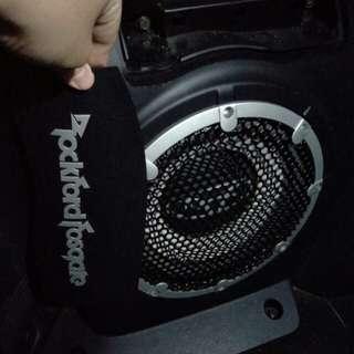 Mitsubishi Outlander Rockford Bass Speaker