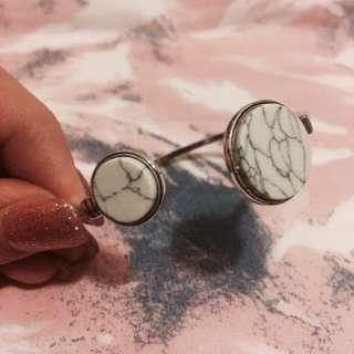 Women Marble Cuff Bracelet (Zara, H&M, Bershka, A&F)