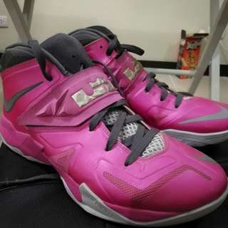 Nike Zoom Soldier 7 Think Pink Size 10