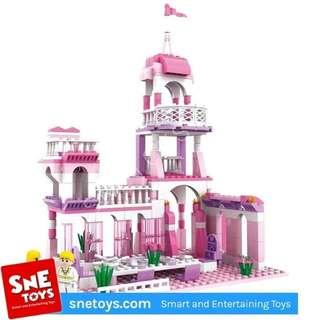 cogo lego castle girls mainan anak