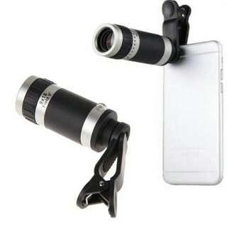 Universal 8X Zoom Telescopic Optical Lens