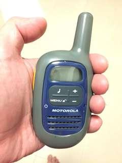 Motorola Walkietokie 3 meter