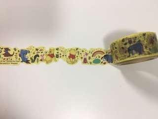 迪士尼 小熊維尼 Winnie the Pooh 紙膠帶 masking tape