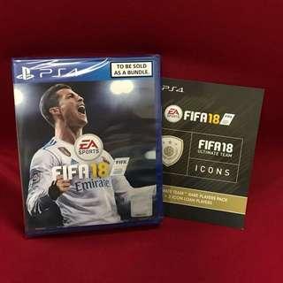 PS4 FIFA18 BUNDLE
