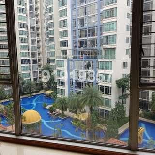 Lakeshore 3 Bedroom condo for rent, across Lakeside MRT station