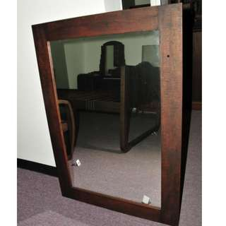 Rustic Mirror with Burma Teak Wood