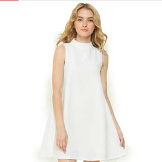 Look boutique store alexander white dress