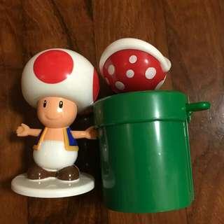 Mario麥當勞玩具