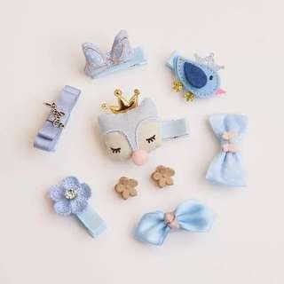 Sky Blue Series Baby Hair Clip