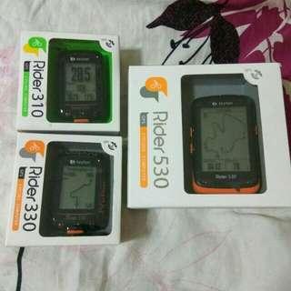 100%NEW Bryton Rider 310/330/530 GPS Cycling Computer 中文無線GPS單車碼錶~~~送機身保護套連膜