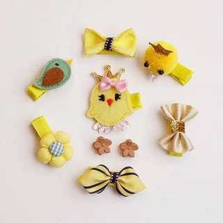 Little Yellow Chick Series Hair Clips