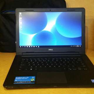 Dell Inspiron 14 - 3462 (Used Once) FREEBIES: Bag and FULL VERSION WINDOWS OFFICE