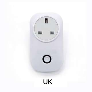 [IN-STOCK] Sonoff S20 WiFi Smart Remote Control Power Socket UK Plug Home Automation